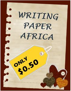 This is a writing themed paper that includes both Primary Lined Paper (K-2) and Standard Lined Paper (3-6).
