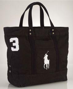 Polo Ralph Lauren Bag, Big Pony Tote Bag - Belts, Wallets & Accessories - Men - Macys