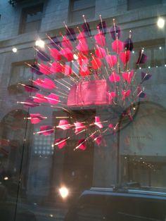 The Studio Harrods visits Milan Furniture Fair - LV Window