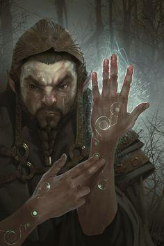 Gnome, Arman Akopian on ArtStation at https://www.artstation.com/artwork/4JOL