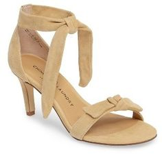 Women's Chinese Laundry Rhonda Ankle Tie Sandal Beige Style, Chinese Laundry, Beautiful Shoes, Kitten Heels, Peep Toe, Nordstrom, Slim, Ankle, Sandals