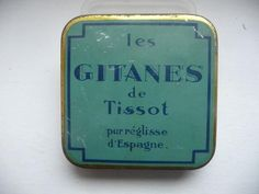 Ancienne Boîte en fer métal 1950 Pastilles REGLISSE TISSOT Vintage Tins, Old And New, Pot Holders, Tin Cans, Ebay, Art, Souvenir, Antique Boxes, Belle Epoque