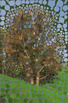 Andrea Mora title: Early Springtime No. 2  (2013) original size: 80 x 120 cm digital painting