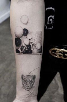 Awesome Tattoos by Amazing Artist Eva Krbdk Awesome Tattoos by Amazing Artist Eva KrbdkAmazing Artist Eva Krbdk specializes in illustrative miniature fine art. Eva is originally f World Travel Tattoos, Professional Tattoo, Most Popular Tattoos, Arm Tattoos, Awesome Tattoos, Black And Grey Tattoos, Color Tattoo, Tattoo Models, Tattoo Artists