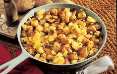 Down-Home Country Fries - Look for parboiled potatoes in the frozen food section of the grocery store. You can also microwave potatoes quickly by wrapping them in plastic wrap and cooking on HIGH for 5 minutes.