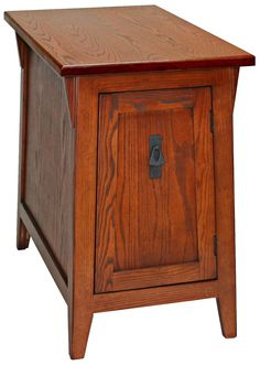 Leick Furniture Russet Finish Mission End Table -