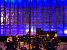 "#ChamberMusic ""Gläsernes Foyer""  - tonight with ENSEMBLE VARIAZIONE #staatskapelleberlin #POULENC PROKOFJEW a.o."