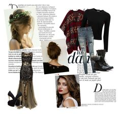 """""""Untitled #1"""" by fangirl-in-the-us ❤ liked on Polyvore featuring Anja, Balmain, H&M, Rebecca Minkoff, Pure Collection, Polo Ralph Lauren, Jovani and Giuseppe Zanotti"""