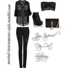 Isabelle Lightwood Inspired Day Out Shopping - Polyvore