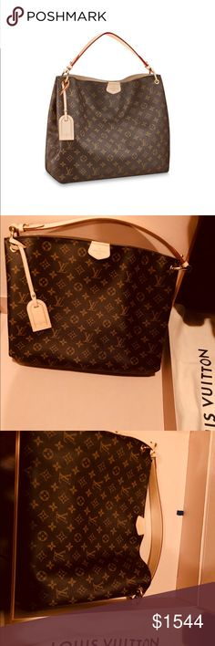ef1b066ca1f6 Bag Louis Vuitton bag. GRACEFUL MM. this bag is very beautiful and  spacious. Authentic bag. Not interested in trading. The box is not included.