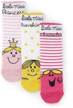 3 Pairs of Cotton Rich Little Miss Sunshine Socks £3 40% OFF! #bestdressed #fashion #ukhd #style #deal http://www.bestdressed.co.uk
