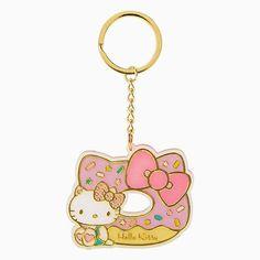 Hello Kitty doughnut keychain.