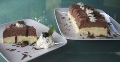 Das wahrscheinlich schnellste Parfait der Welt! Kaltes QimiQ Whip Vanille und Schokolade mit Kokosflocken jeweils ein paar Minuten aufschlagen, abfüllen und tiefkühlen. Unbedingt ausprobieren! Parfait, Delicious Recipes, Yummy Food, Brunch, Cupcakes, Snacks, Tiramisu, Ethnic Recipes, Desserts