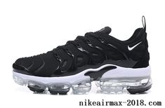 e3c43572e127 New Style Nike Air Vapormax Plus Kpu Tn 2018 Black White Mens Running Shoes  Sneaker