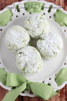 Key Lime Coconut Pecan Cake Mix Cookies - perfect for your next soiree!