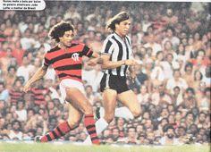 Nunes autor do gol decisivo do campeonato brasileiro de 1980 contra o Atlético Mineiro. Flamengo!