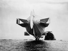 Dinge en Goete (Things and Stuff): This Day in World War 1 History: Feb 17, 1915: Zeppelin L-4 crashes into North Sea