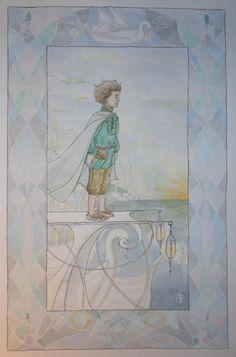 """""""sam at the grey havens"""" by Paula Flöter"""
