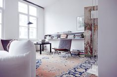 love the persian rug- Today you inspired me
