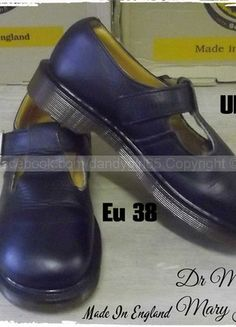 061012ee5da Disponibles ☠ Dr. Martens Martens Mary Jane Pointure 38 uk5 Vintage Made in  England