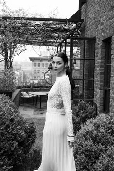 Model Mariacarla Boscono Shares Her Beauty Routine: We've outlined the secrets to Mariacarla Boscono's beauty below, which include frequenting steam rooms, not giving up pasta, and finding beauty in age. -- Pleaded white skirt and knit top | coveteur.com