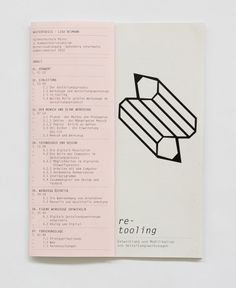 re-tooling, Lisa Reimann, Germany.