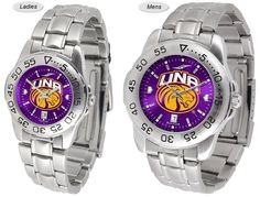 The Sport Steel AnoChrome North Alabama Lions Watch is available in Mens or Ladies styles. Showcases the Lions team logo. Stainless Steel band. Free Shipping. Visit SportsFansPlus.com for Details.
