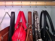 Our Tote Hanger® featured by @Stallion1920 Great video! www.ToteHanger.com #hangyourbags #handbags #hook #totehanger #bags Sold The Container Store $9.99 https://www.youtube.com/watch?v=Tb_MF46_sYE