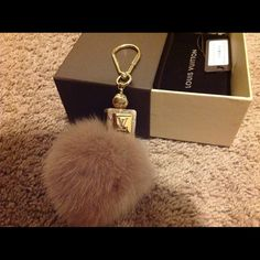 """Spotted while shopping on Poshmark: """"Auth. Louis Vuitton Fluffy Charm""""! #poshmark #fashion #shopping #style #Louis Vuitton #Accessories"""