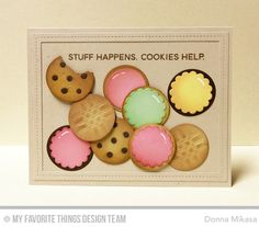 card cookie cookies MFT Die-namics LLD You're the Milk to My Cookie MFT Cookie crumb Die-namics three umbrellas: MFT Mft Stamps, Funny Cards, Card Sketches, Scrapbook Cards, Scrapbooking Ideas, Recipe Cards, Cool Cards, Creative Cards, Greeting Cards Handmade