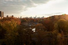 NYC. The view south from Central Park North is available to renters and buyers much more affordably than properties along the park's other boundaries.