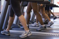Treadmills are one of the best workouts for saddlebags.