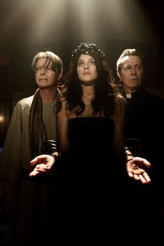David Bowie, Marion Cotillard & Gary Oldman in David Bowie's video for The Next Day