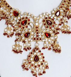 jewelry from india | Wedding Indian jewelry Set. : Salwar Suits, - Buy Indian Salwar Suits ...