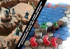 And with new gaming format Wayfarer Tactics (now on Kickstarter), Ill Gotten Games is betting everything on 3D printing; all you need is their rulebook, their free and downloadable scenery and miniature models and your imagination, and a whole new wargaming universe opens up to you.
