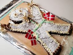 Chokolade-Kage-Mand og Sne