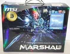 New MSI BIG BAING MARSHAL (B3) LGA1155 Intel P67 B3 DDR3 SATA3 and USB 3.0 A&2GbE XL-ATX Motherboard