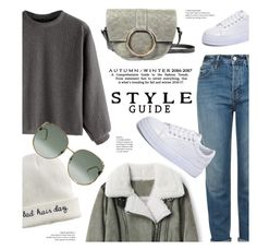 """""""8:51"""" by monmondefou ❤ liked on Polyvore featuring Topshop, Mudd and Gucci"""