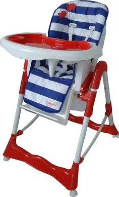 "The red-blue high chair ""Prince"""