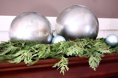 DIY Mercury Glass Globes