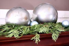 DIY Mercury Glass Globes
