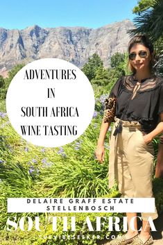 Adventures in South Africa Wine Tasting: Delaire Graff - The Vibe Seeker Wine Tasting, South Africa, Adventure, Cape Town, Travel, Viajes, Destinations, Adventure Movies, Traveling