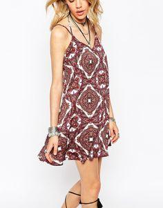 Image 3 of Missguided Boho Geo-Tribal Print Cami Dress