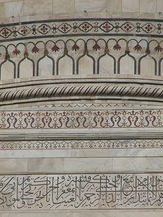 Marble Inlay Work - Taj Mahal Agra, India; A UNESCO World Heritage Site - タージ・マハル by TANAKA Juuyoh (田中十洋), via Flickr
