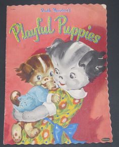 Ruth Newton's ''PLAYFUL PUPPIES'' Whitman 1953 | eBay