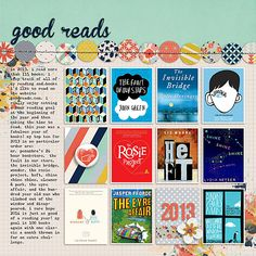 Scrapbooking Ideas for Recording a Top 10 Round-Up of Current Culture | Celeste Smith | Get It Scrapped