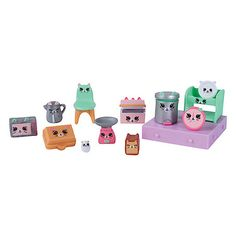 Shopkins Happy Places Decorator Pack - Kitty Kitchen - The Entertainer - The Entertainer