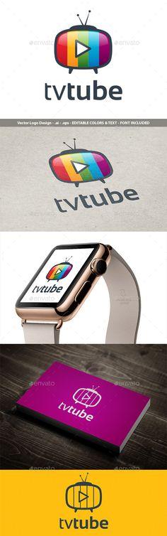 TvTube Logo Design
