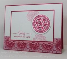stampin up delicate doily cards | Delicate Doilies FTL150