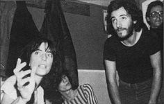 """Love Patti Smith, her books""""Just Kids """" changed my outlook.  and of course Bruce Springsteen never hurt anyone."""